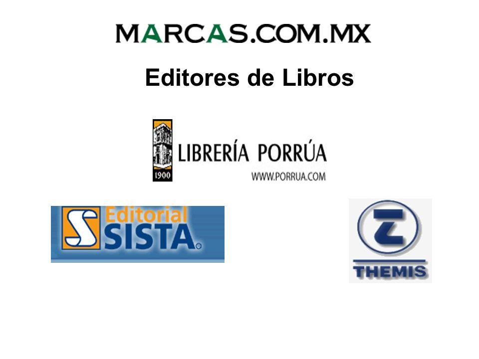 Editores de Libros
