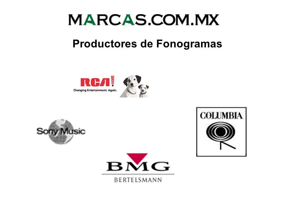 Productores de Fonogramas