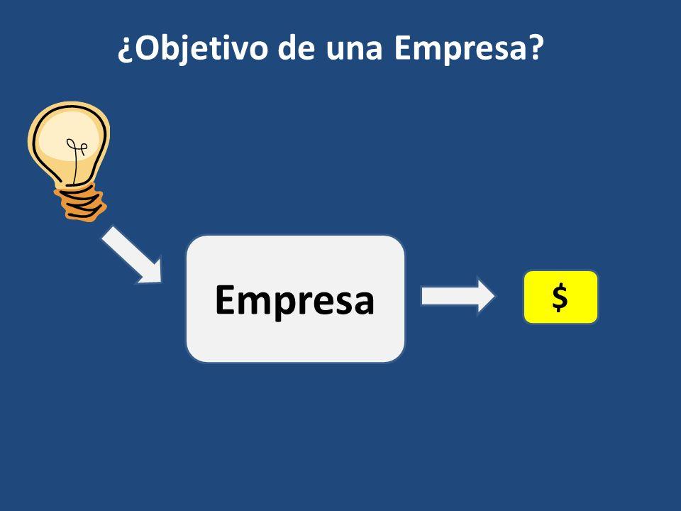 ¿Objetivo de una Empresa