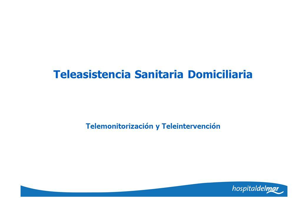 Teleasistencia Sanitaria Domiciliaria