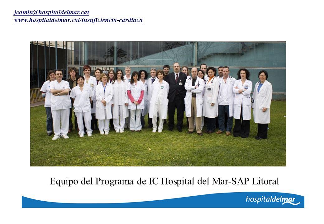 Equipo del Programa de IC Hospital del Mar-SAP Litoral