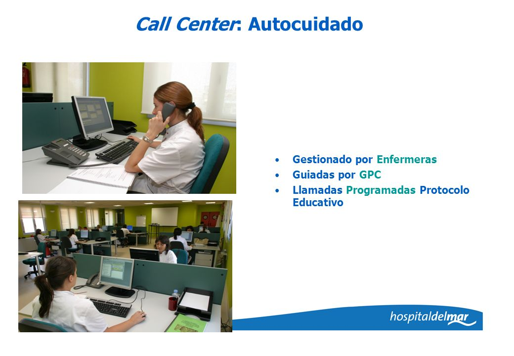 Call Center: Autocuidado
