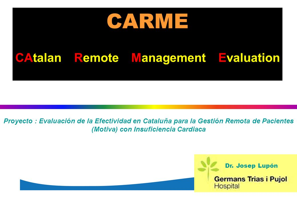 CARME CAtalan Remote Management Evaluation