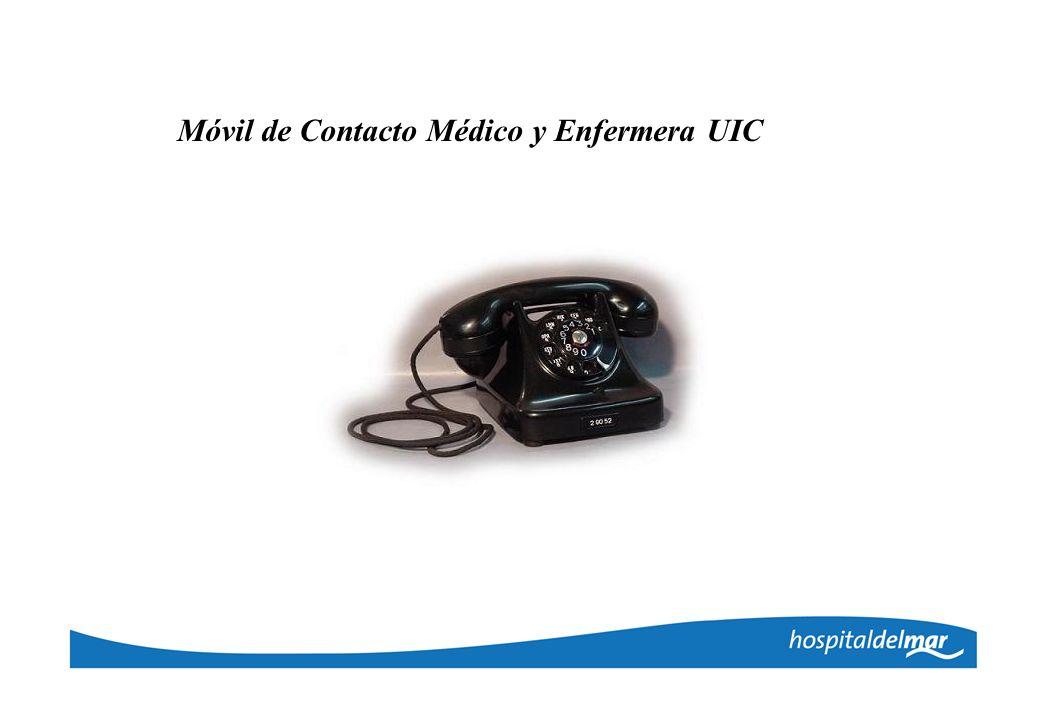 Móvil de Contacto Médico y Enfermera UIC