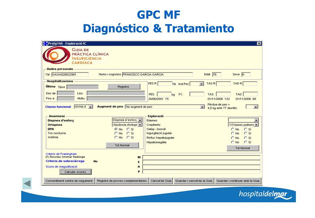 GPC MF Diagnóstico & Tratamiento