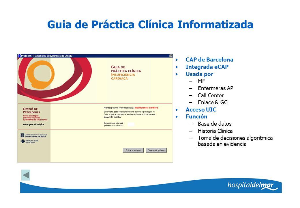 Guia de Práctica Clínica Informatizada