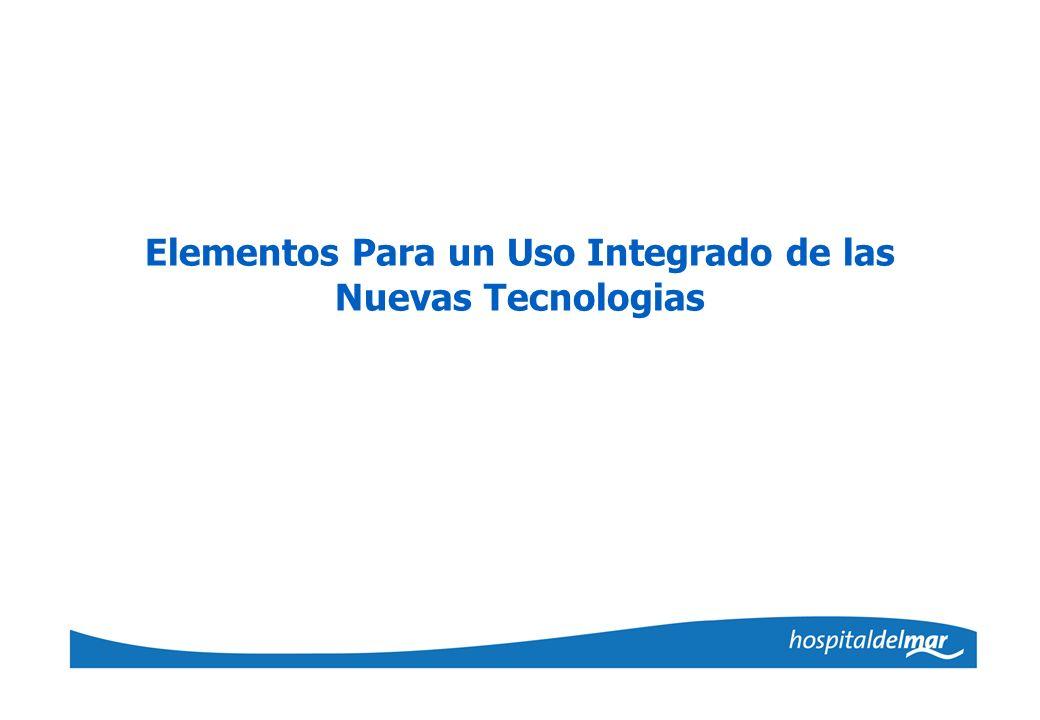 Elementos Para un Uso Integrado de las Nuevas Tecnologias
