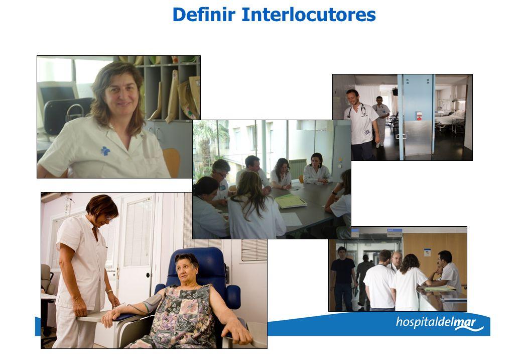 Definir Interlocutores