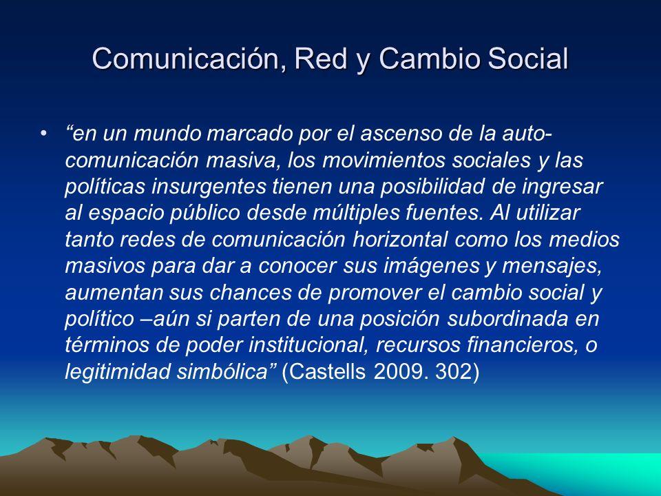 Comunicación, Red y Cambio Social