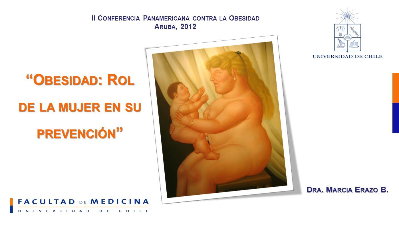 Obesidad: Rol de la mujer en su prevención