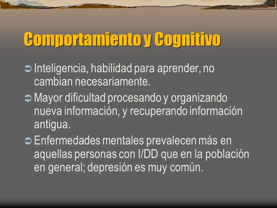 Comportamiento y Cognitivo