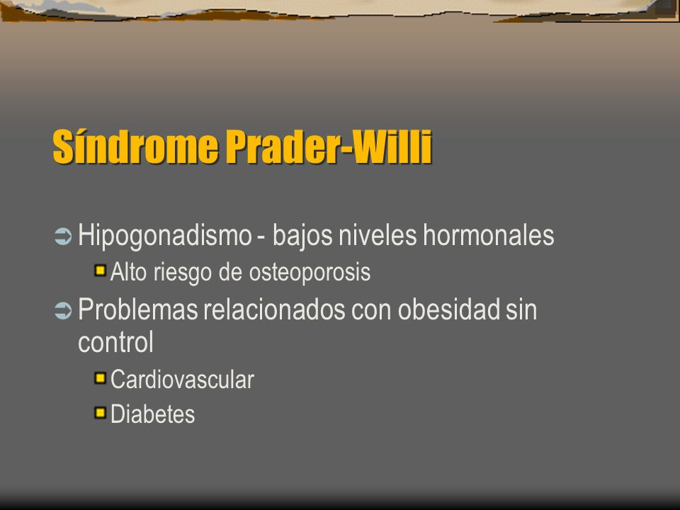 Síndrome Prader-Willi