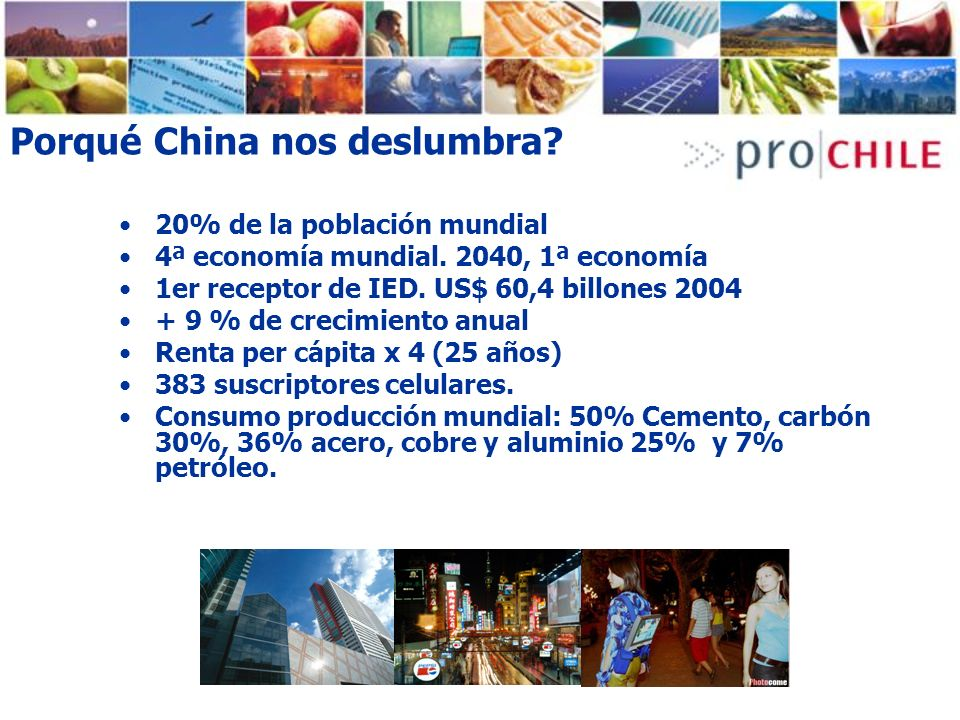 Porqué China nos deslumbra