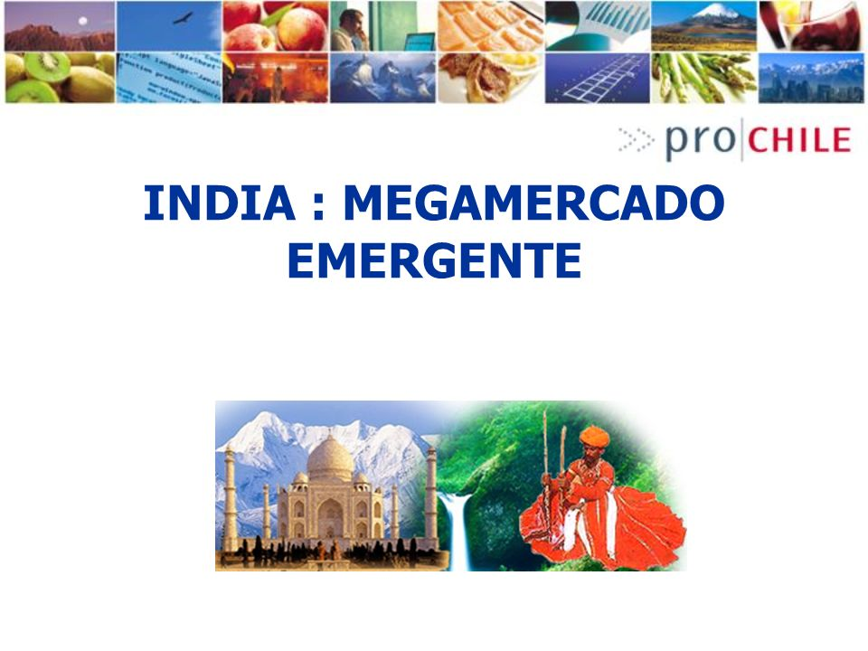 INDIA : MEGAMERCADO EMERGENTE
