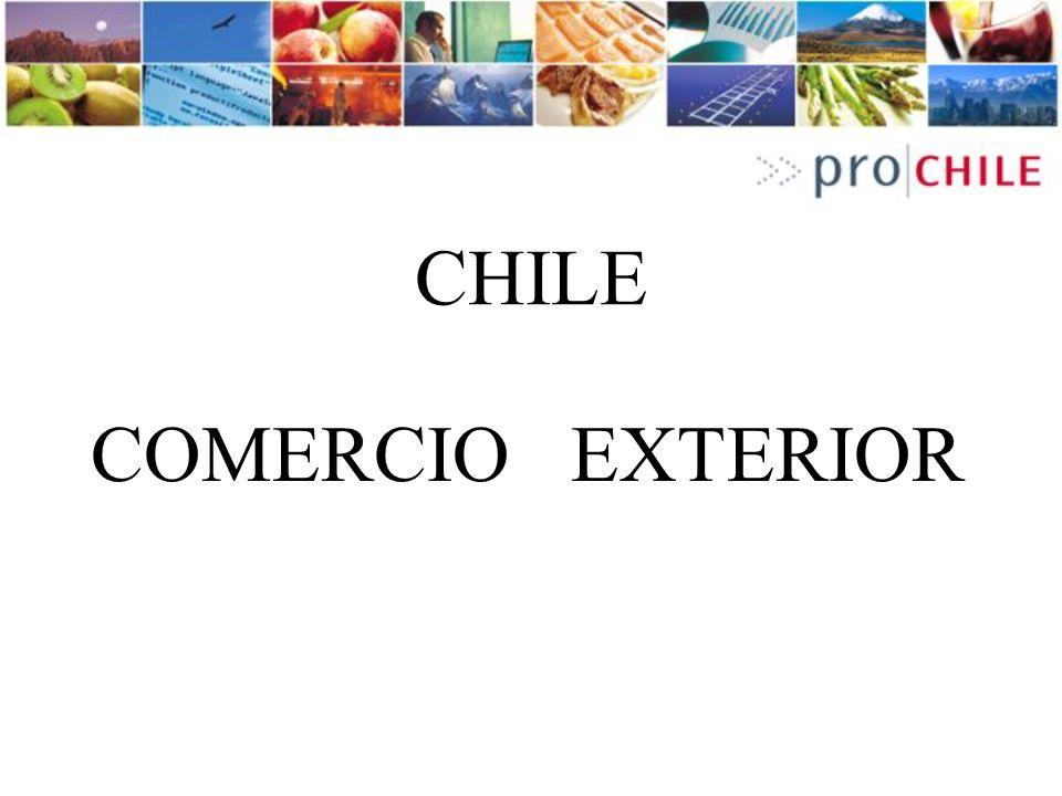 CHILE COMERCIO EXTERIOR