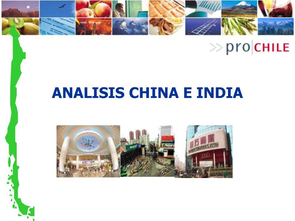 ANALISIS CHINA E INDIA
