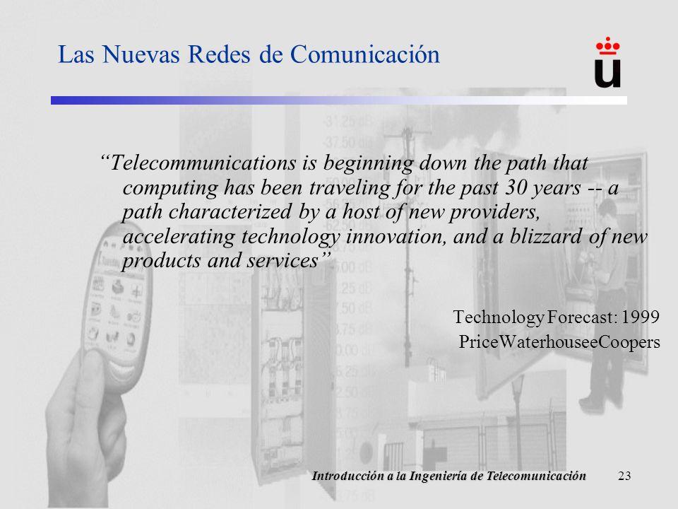 Las Nuevas Redes de Comunicación