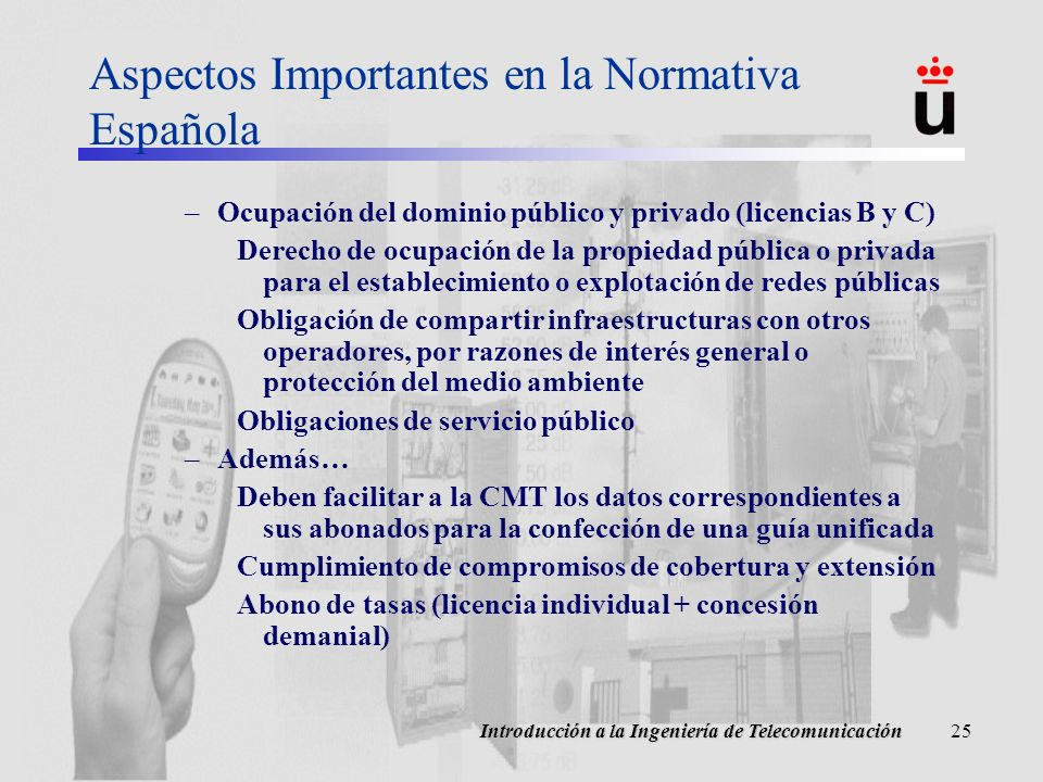 Aspectos Importantes en la Normativa Española