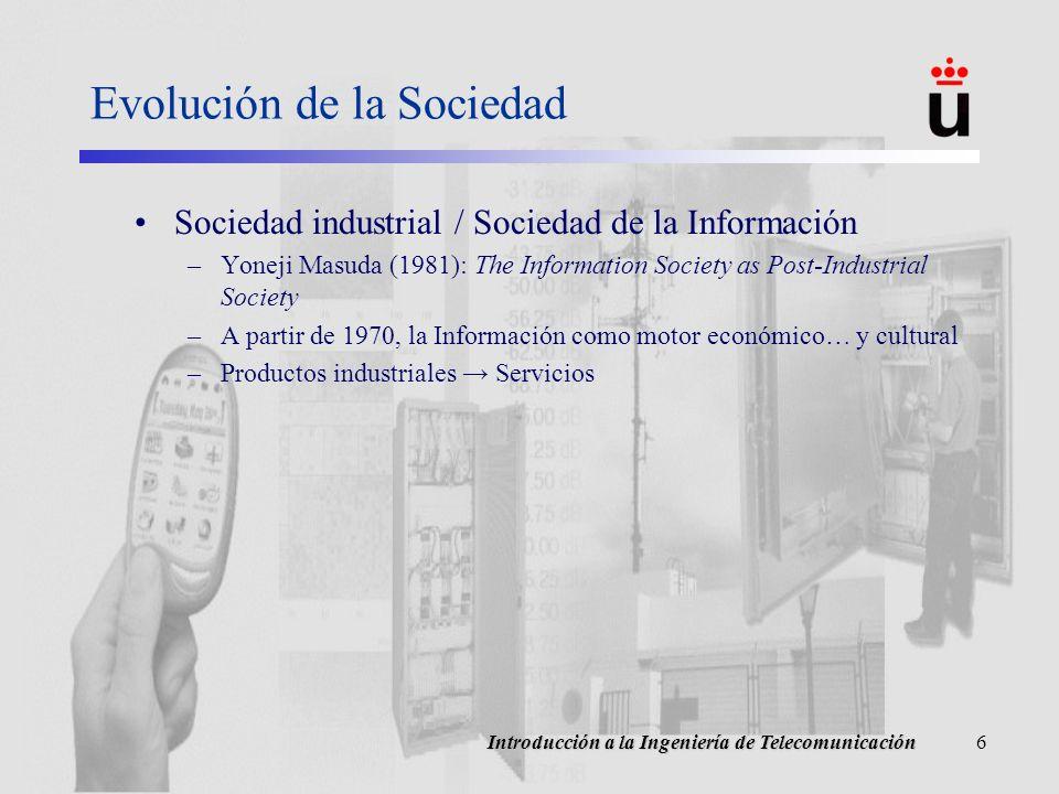 Evolución de la Sociedad