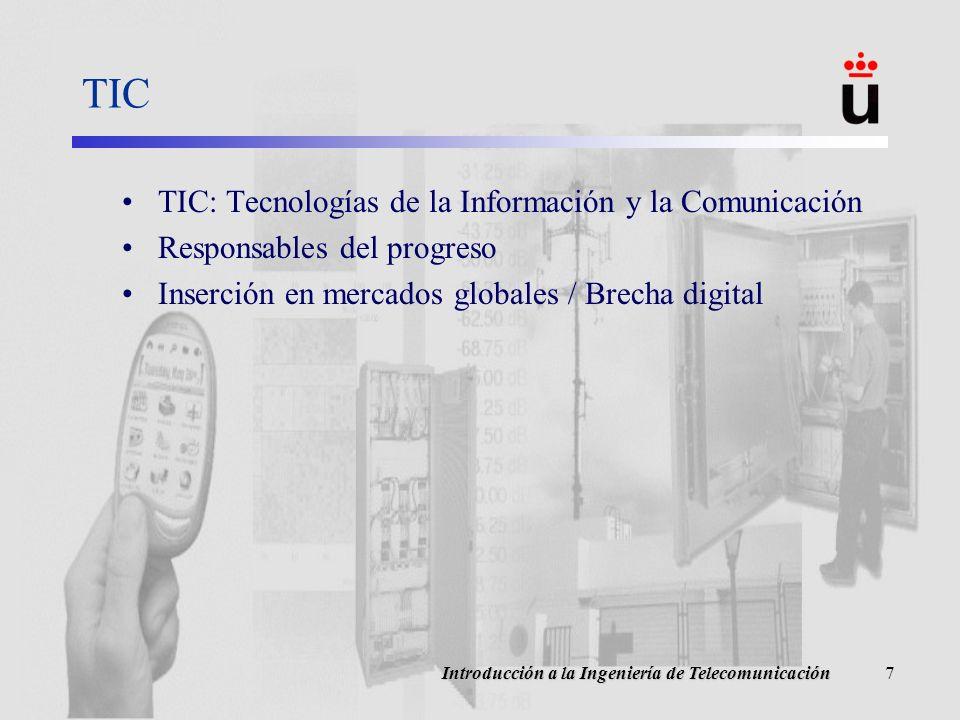 TIC TIC: Tecnologías de la Información y la Comunicación