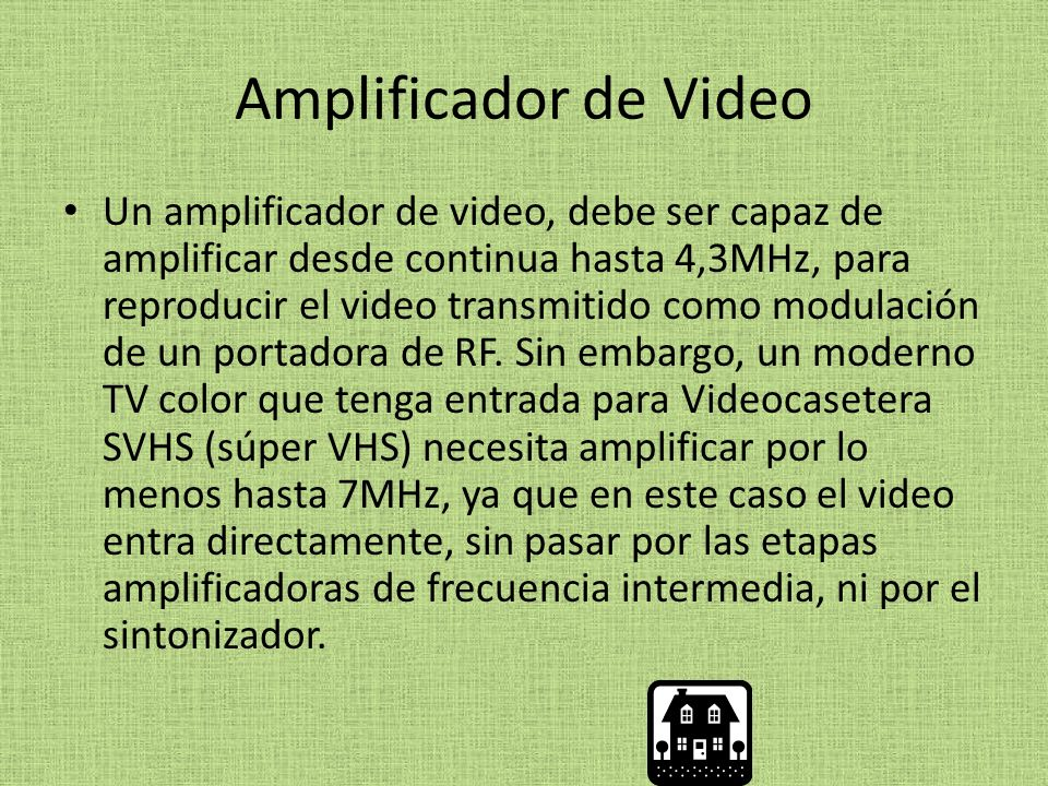 Amplificador de Video