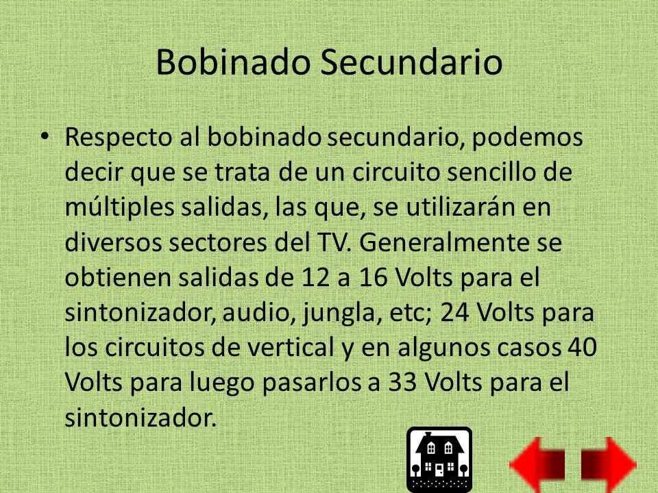 Bobinado Secundario
