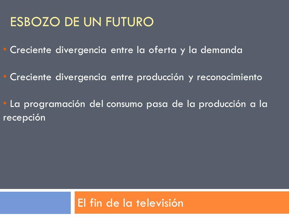 Esbozo de un futuro El fin de la televisión