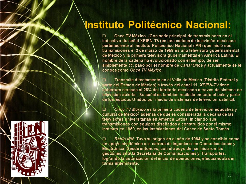 Instituto Politécnico Nacional: