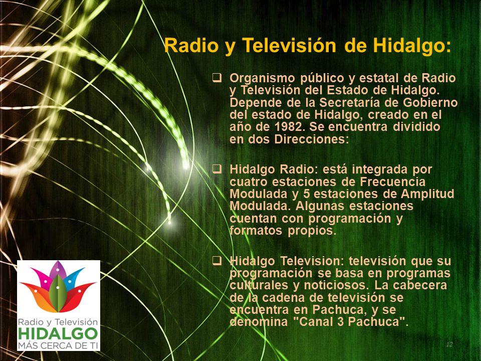 Radio y Televisión de Hidalgo: