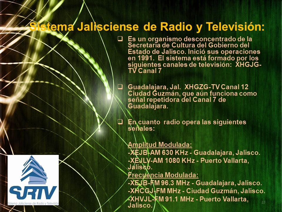 Sistema Jalisciense de Radio y Televisión: