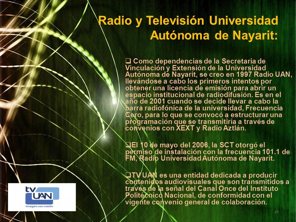 Radio y Televisión Universidad Autónoma de Nayarit: