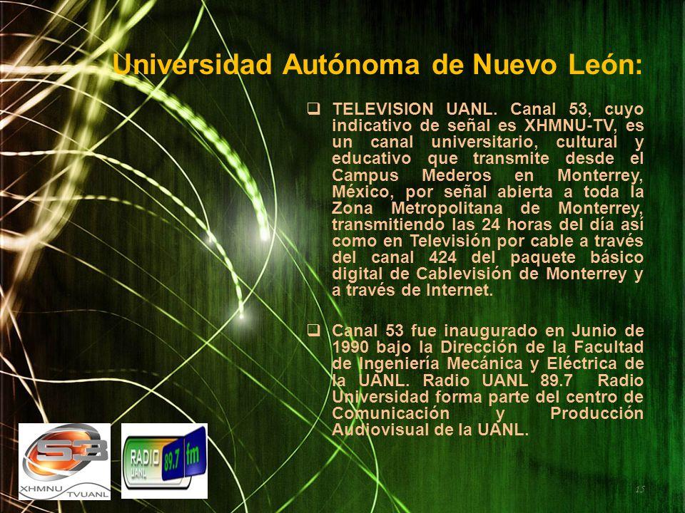Universidad Autónoma de Nuevo León: