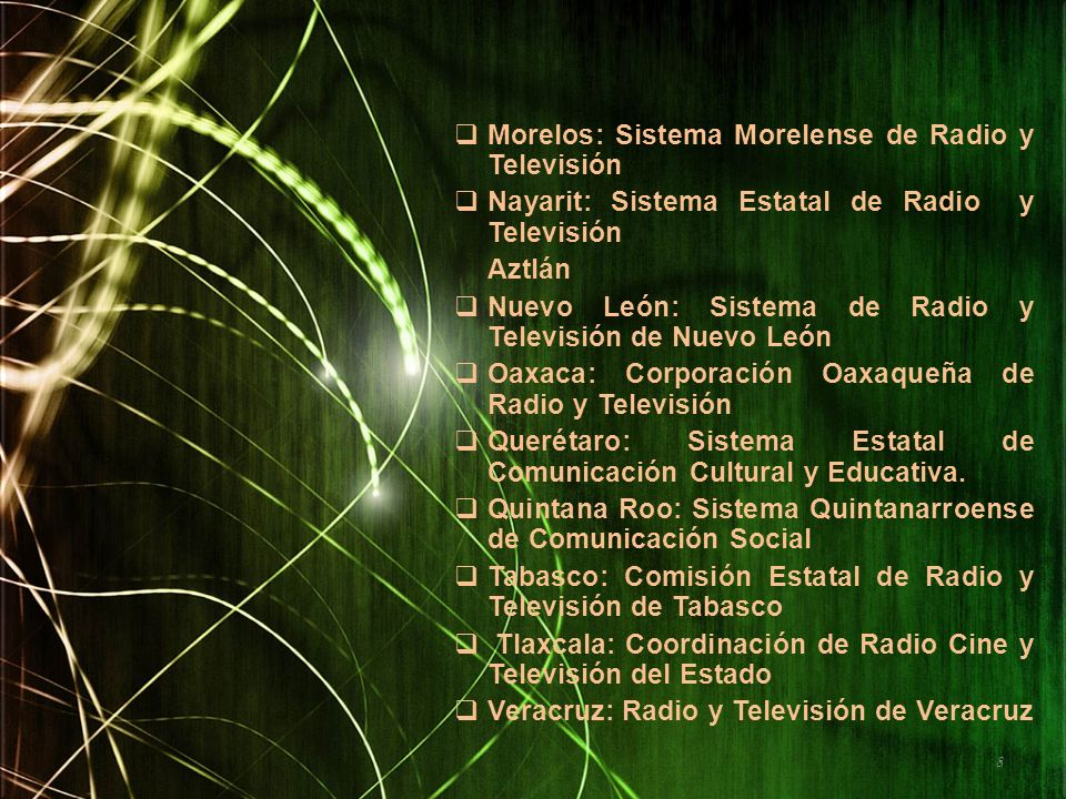 Morelos: Sistema Morelense de Radio y Televisión