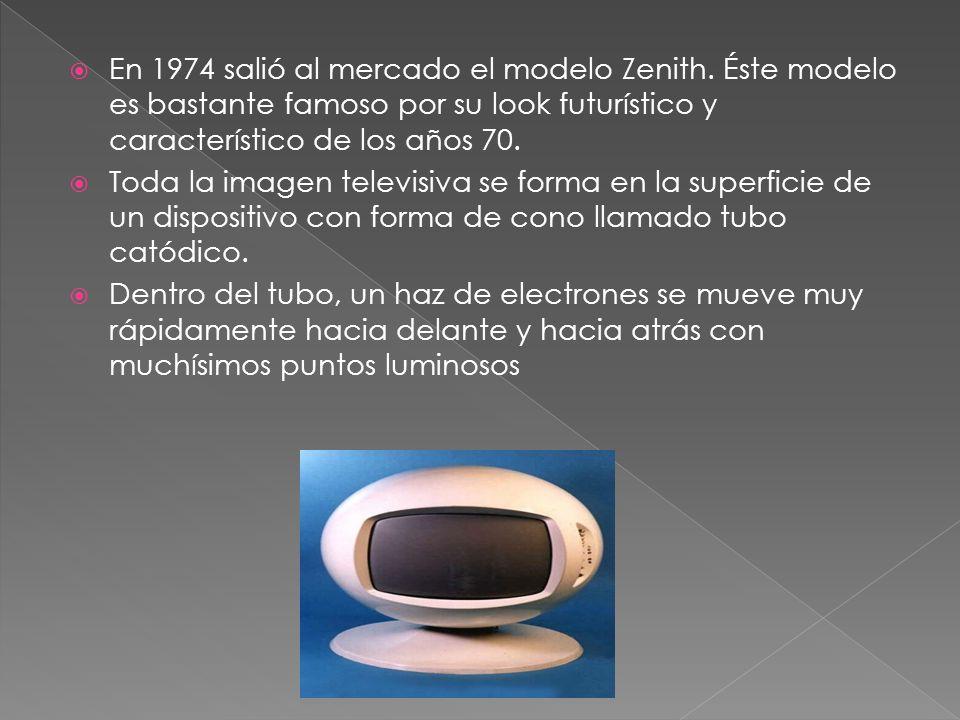 En 1974 salió al mercado el modelo Zenith