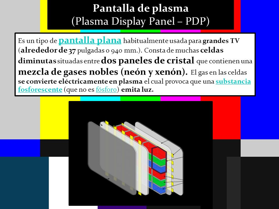 (Plasma Display Panel – PDP)
