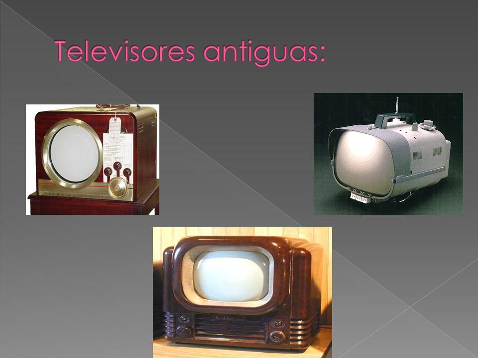 Televisores antiguas: