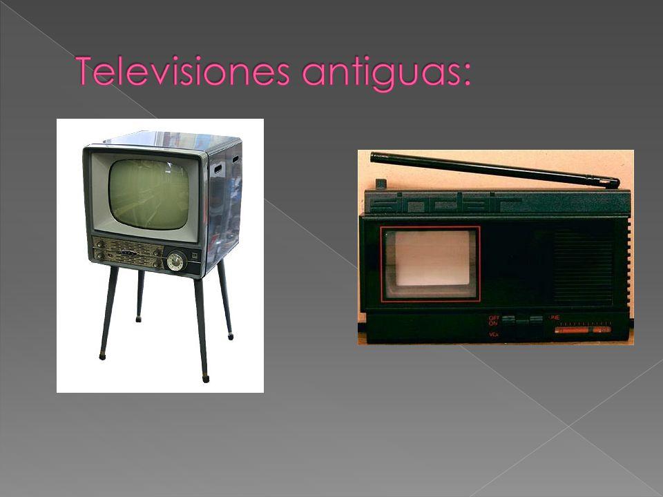 Televisiones antiguas: