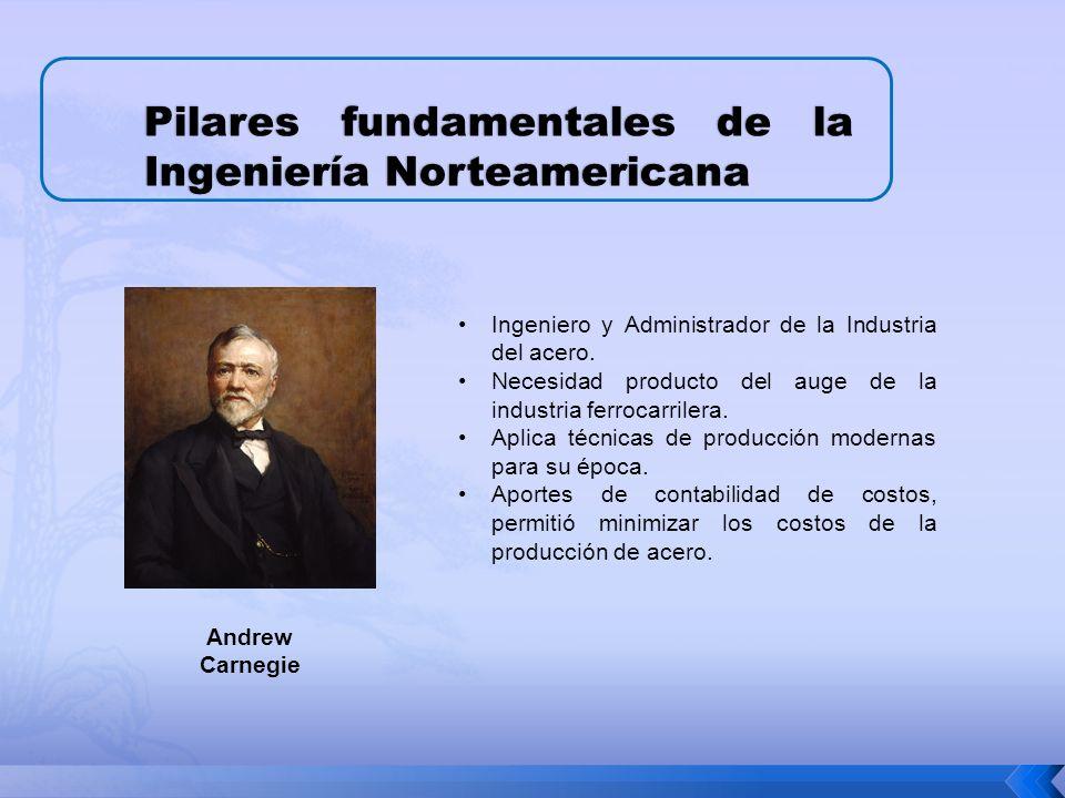 Pilares fundamentales de la Ingeniería Norteamericana