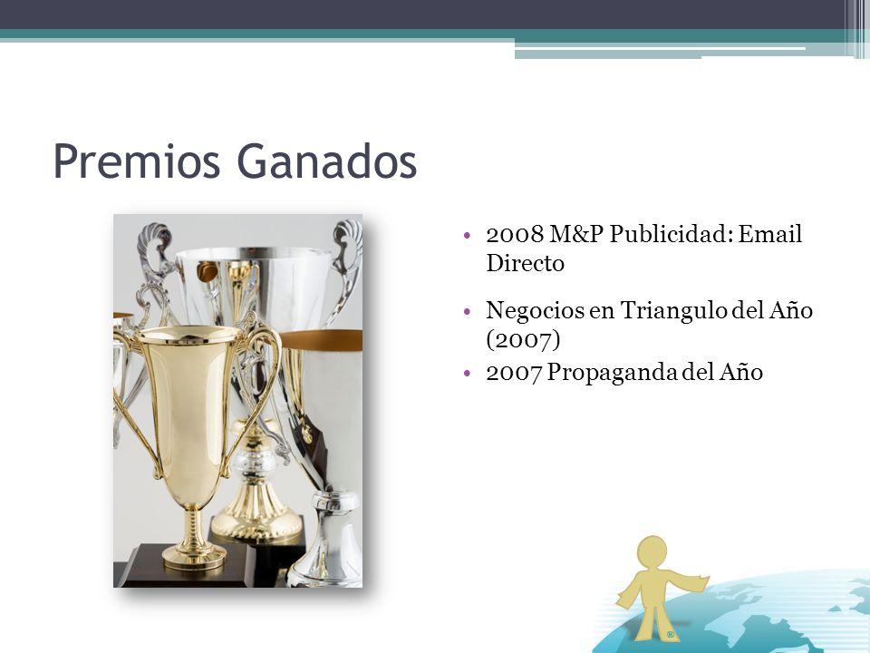 Premios Ganados 2008 M&P Publicidad: Email Directo