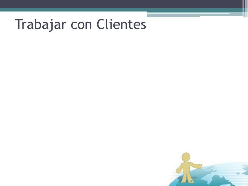 Trabajar con Clientes