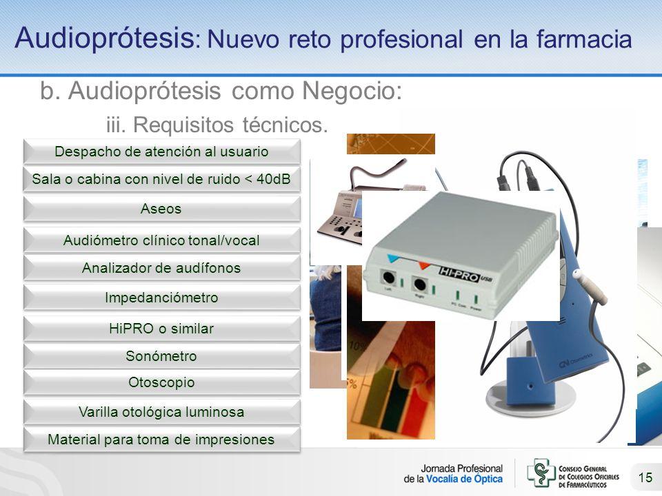 Audioprótesis: Nuevo reto profesional en la farmacia