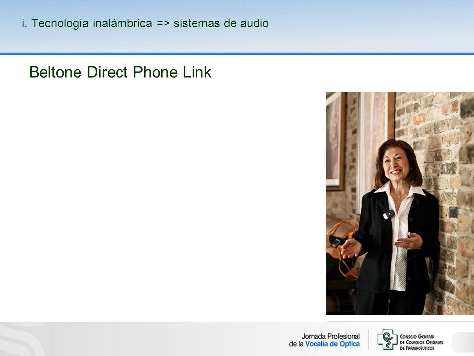 Beltone Direct Phone Link