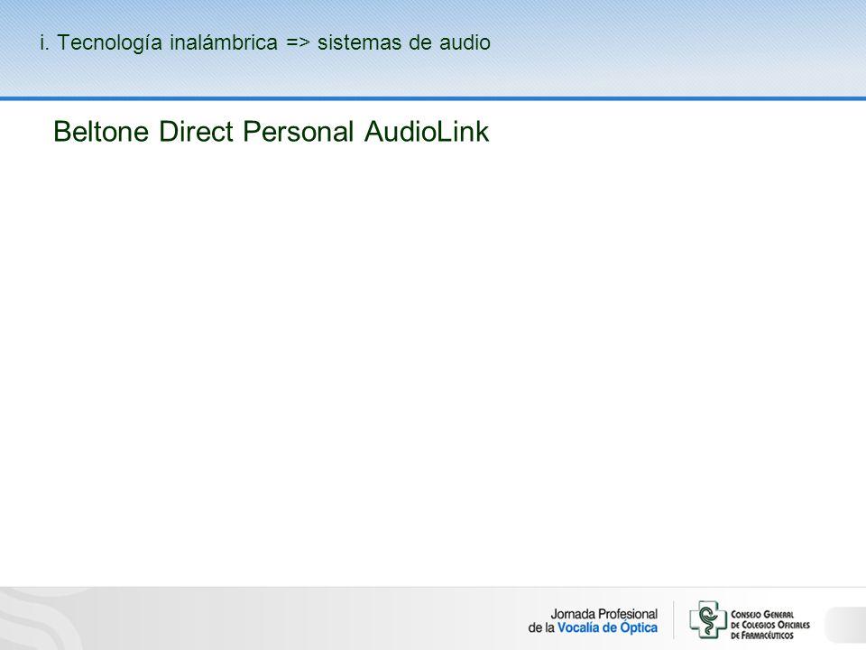 Beltone Direct Personal AudioLink