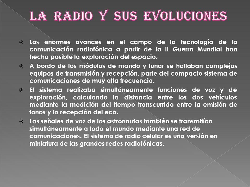 LA RADIO Y SUS EVOLUCIONES