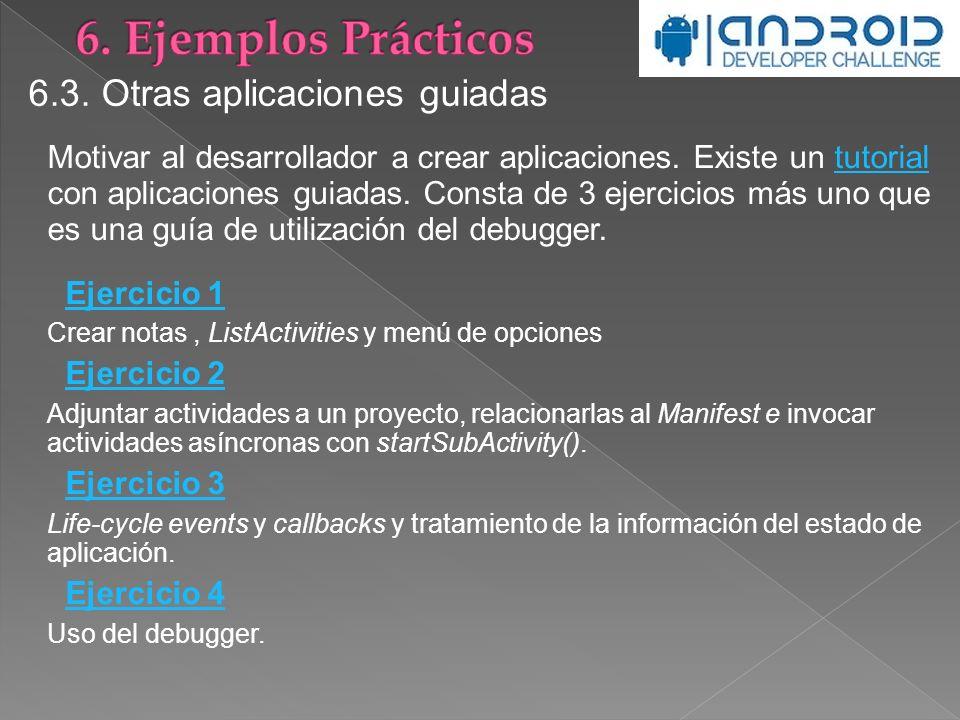 6. Ejemplos Prácticos 6.3. Otras aplicaciones guiadas