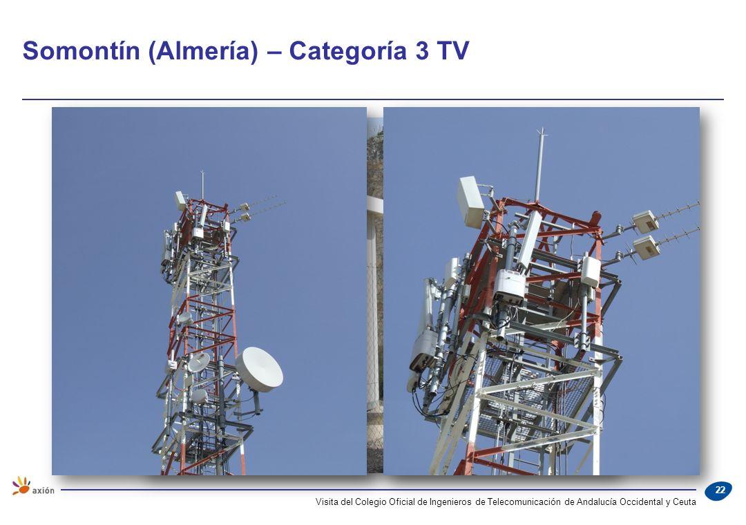 Somontín (Almería) – Categoría 3 TV