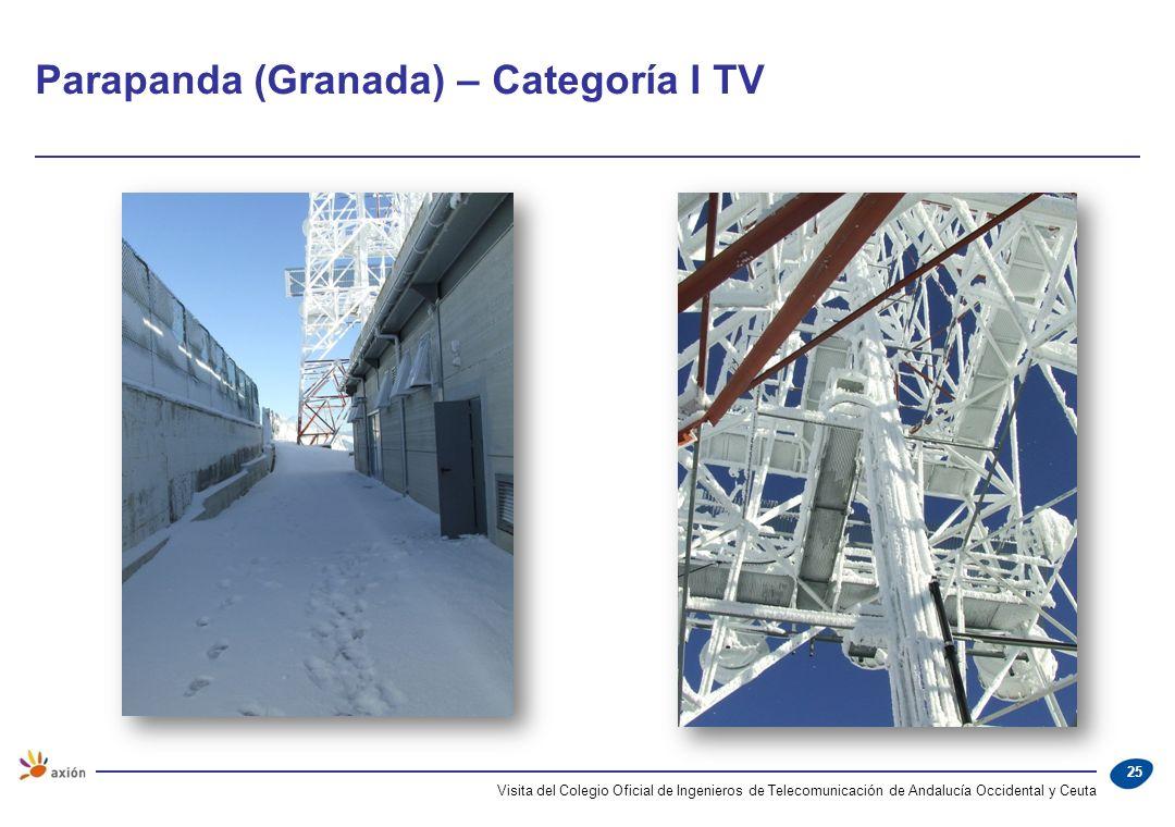 Parapanda (Granada) – Categoría I TV
