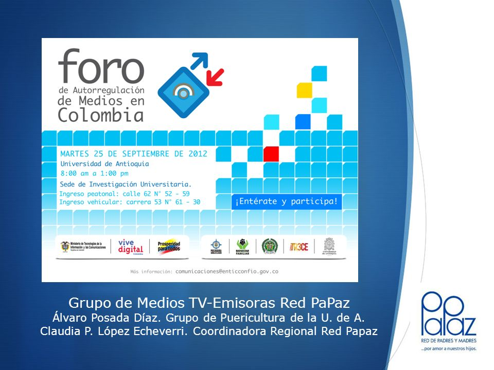 Grupo de Medios TV-Emisoras Red PaPaz