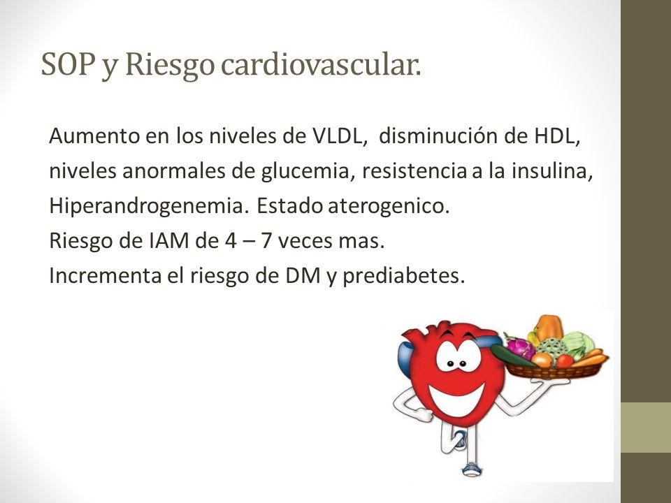 SOP y Riesgo cardiovascular.