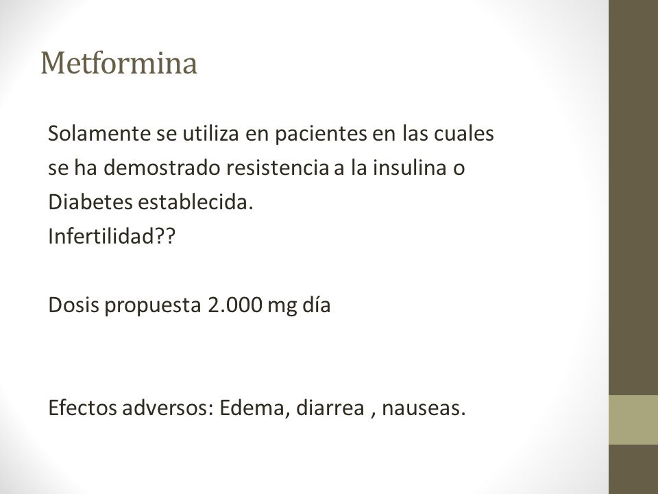 Metformina